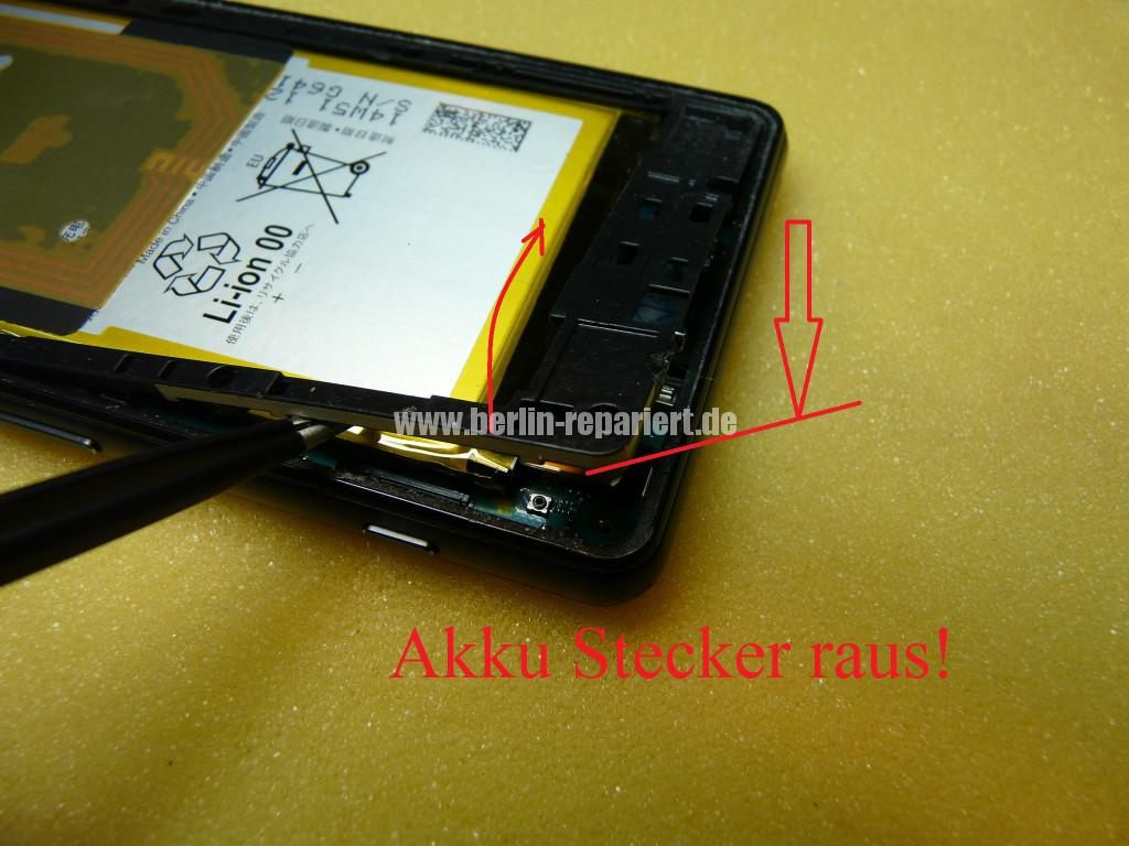 Sony Xperia Z3 CompactD5803, Display tauschen (7)