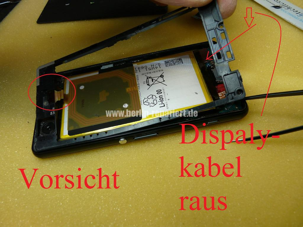 Sony Xperia Z3 CompactD5803, Display tauschen (8)