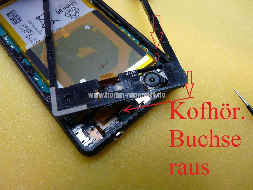 Sony Xperia Z3 CompactD5803, Display tauschen (9)