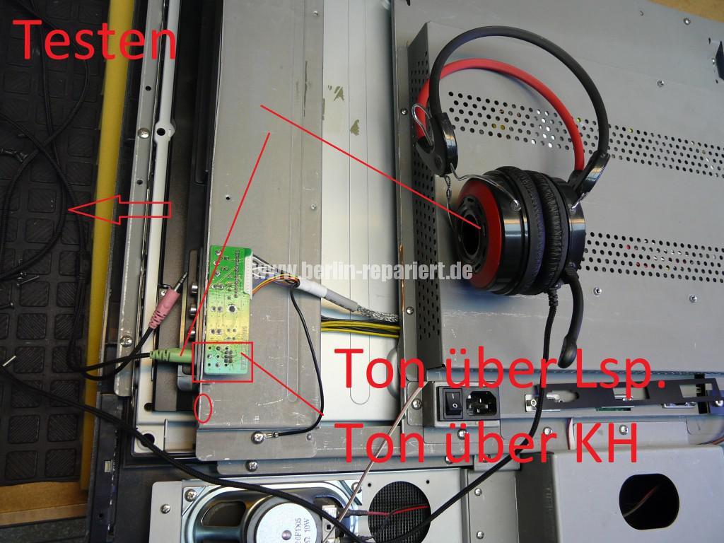 Targa Visionary LT 3230, Fernbedienung Defekt, kein Ton (12)