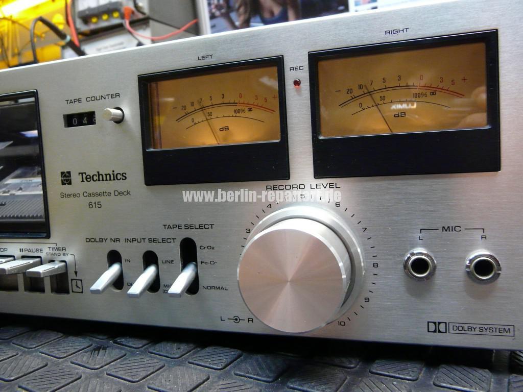 Technics 615 deck, Riemen Counter (13)
