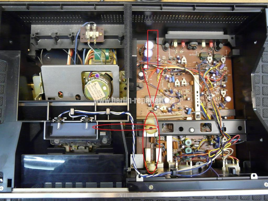 Technics 615 deck, Riemen Counter (4)