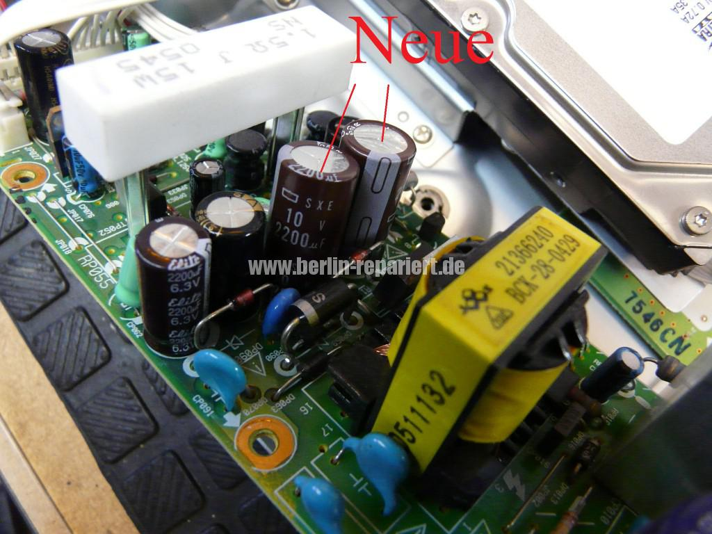 Thomson DTH 8550E, keine Funktion (3)