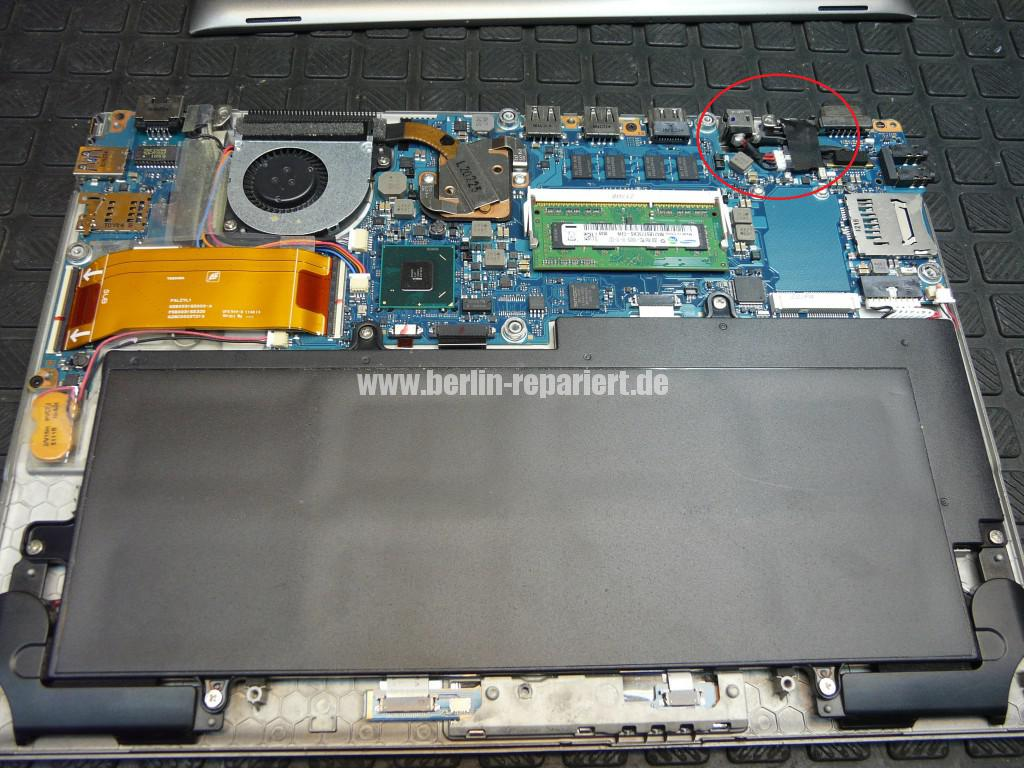Toshiba Portege Z830-120, Netzbuchse Defekt (3)