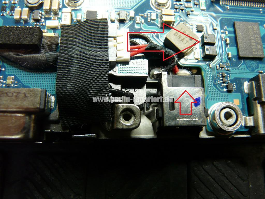 Toshiba Portege Z830-120, Netzbuchse Defekt (4)