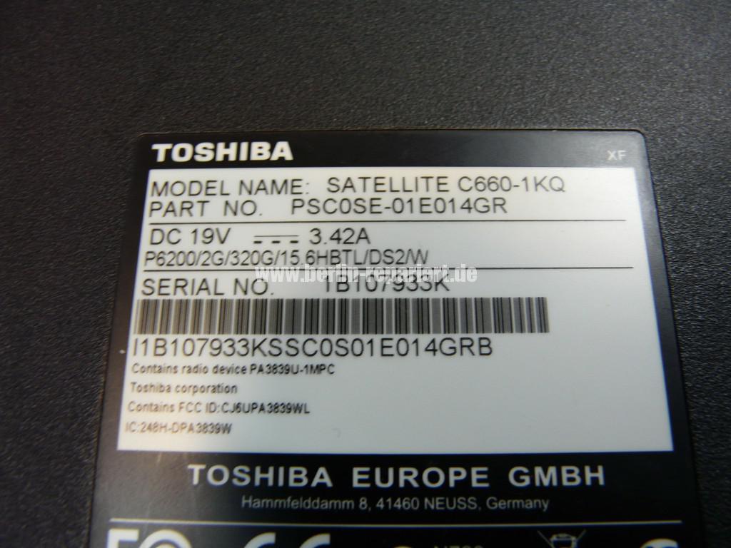 Toshiba Satellite C660, geht nicht an (12)