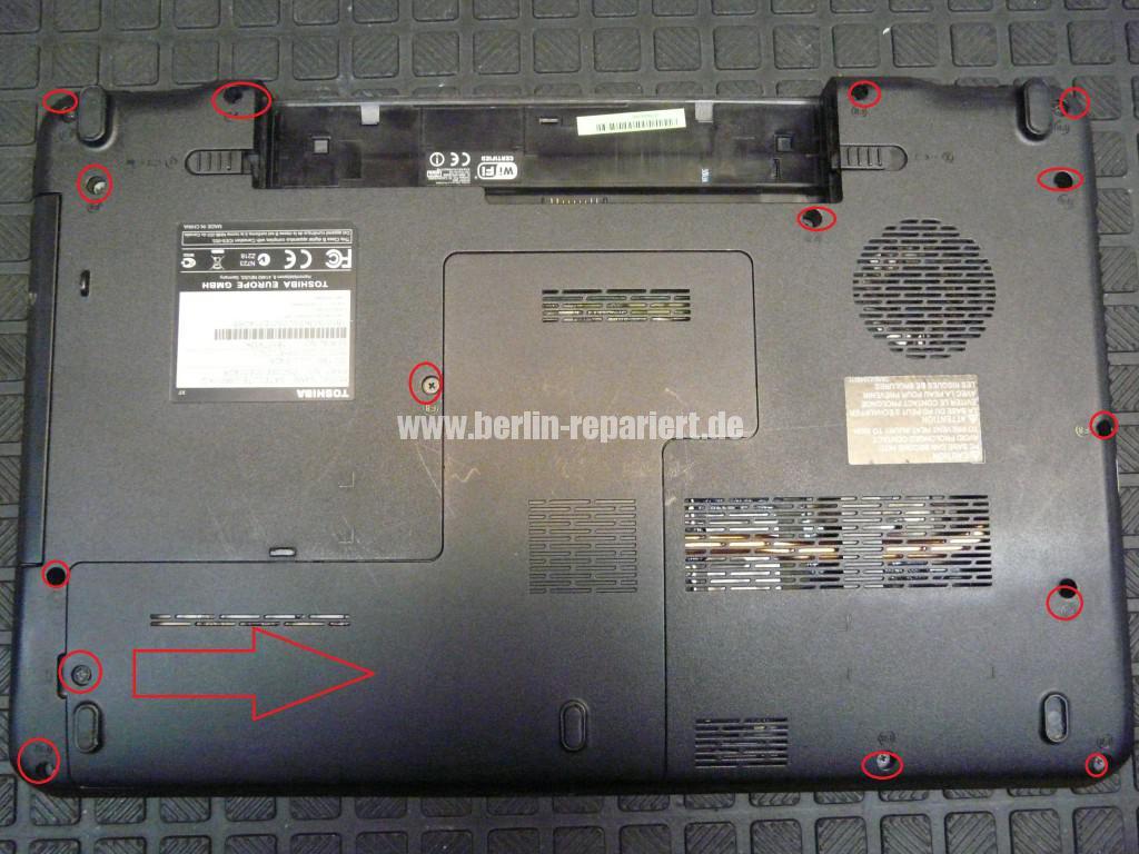 Toshiba Satellite C660, geht nicht an (3)