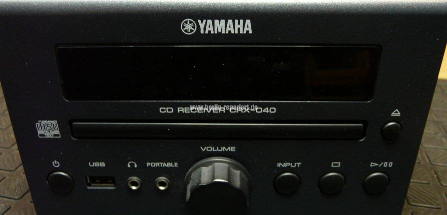 yamaha crx 040 erkennt kein cd mehr leon s blog. Black Bedroom Furniture Sets. Home Design Ideas