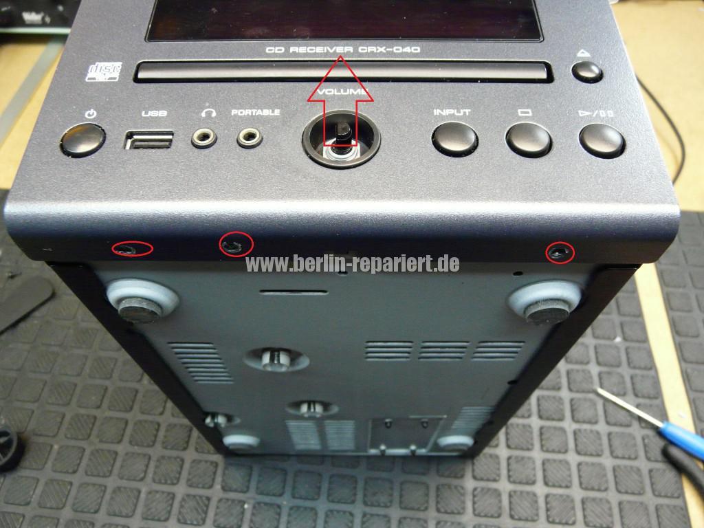 Yamaha CRX-040, erkennt kein CD mehr (2)