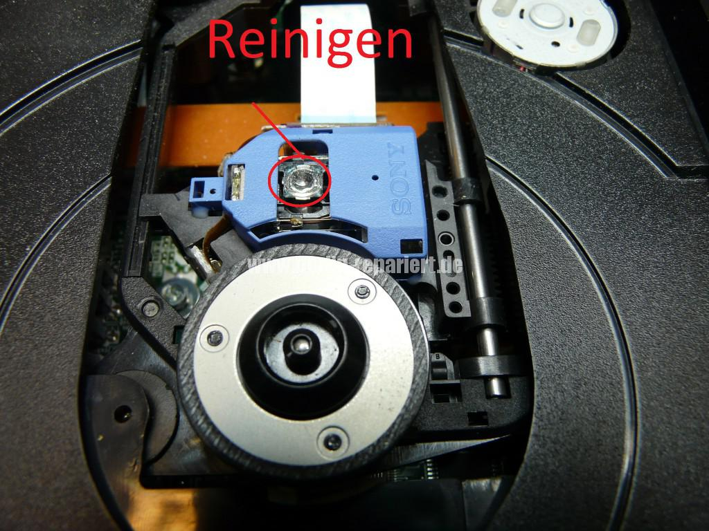 Yamaha CRX-040, erkennt kein CD mehr (9)