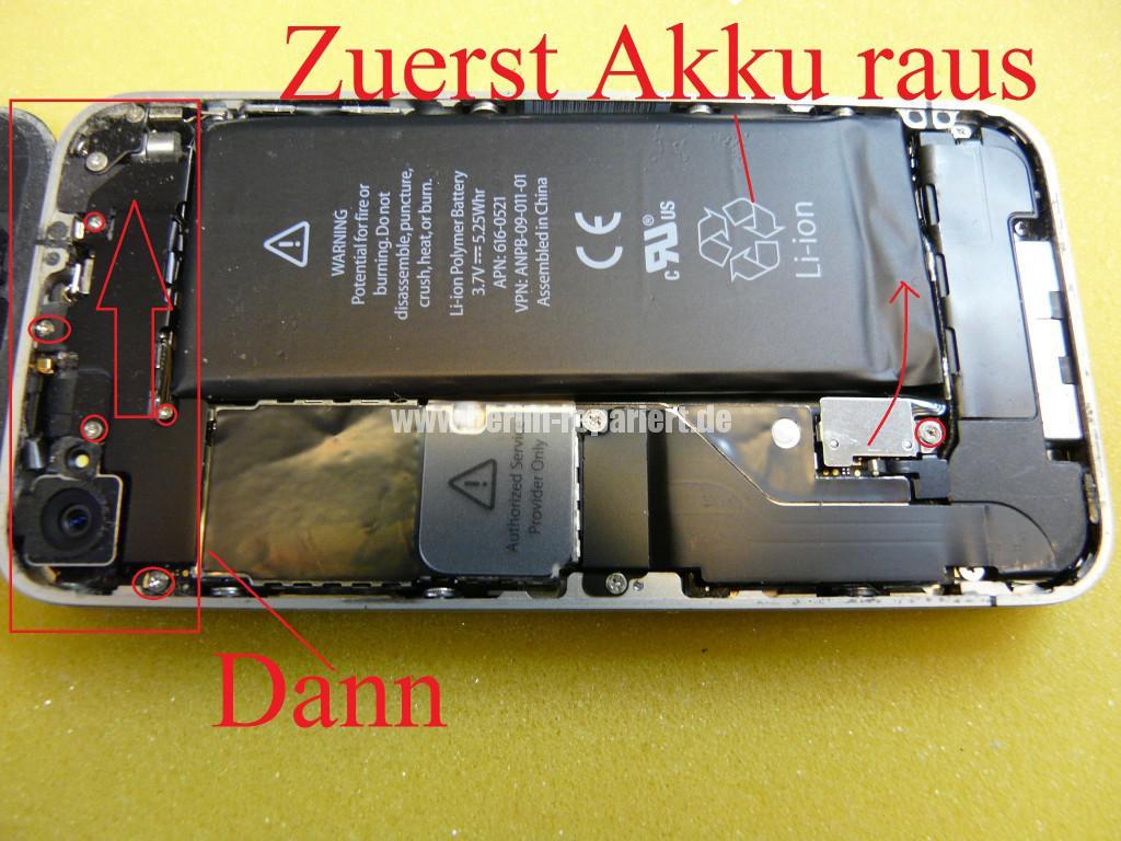 iPhone 4, Kamera tauschen (4)