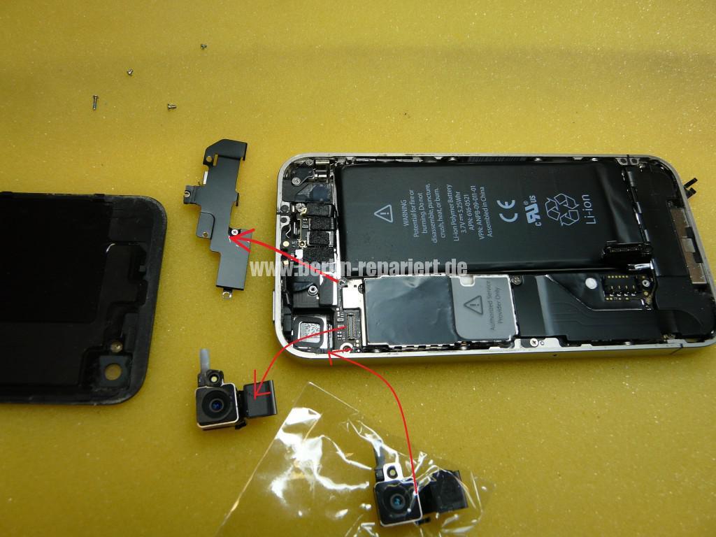 iPhone 4, Kamera tauschen (5)