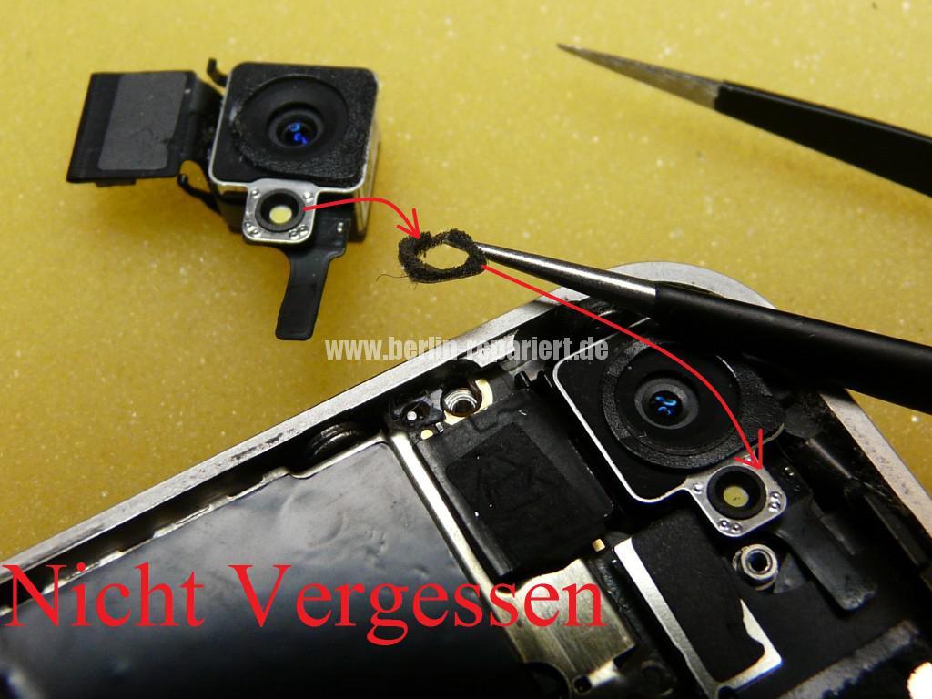 iPhone 4, Kamera tauschen (7)