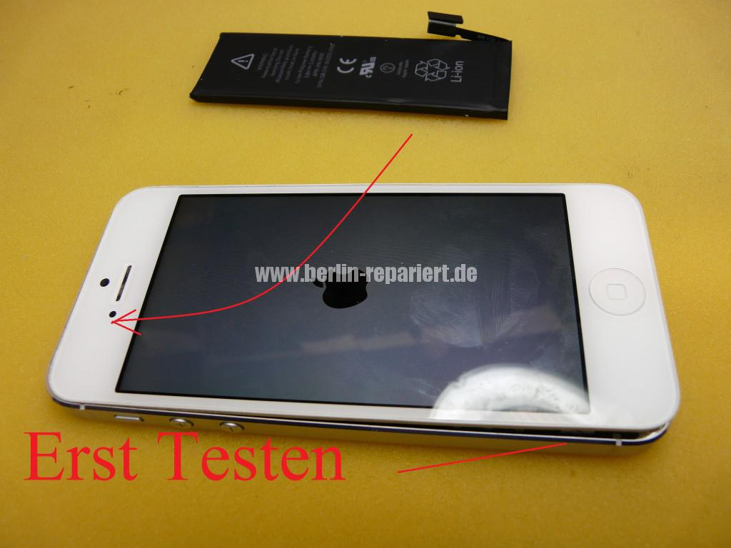 iPhone 5, Akku tauschen (5)