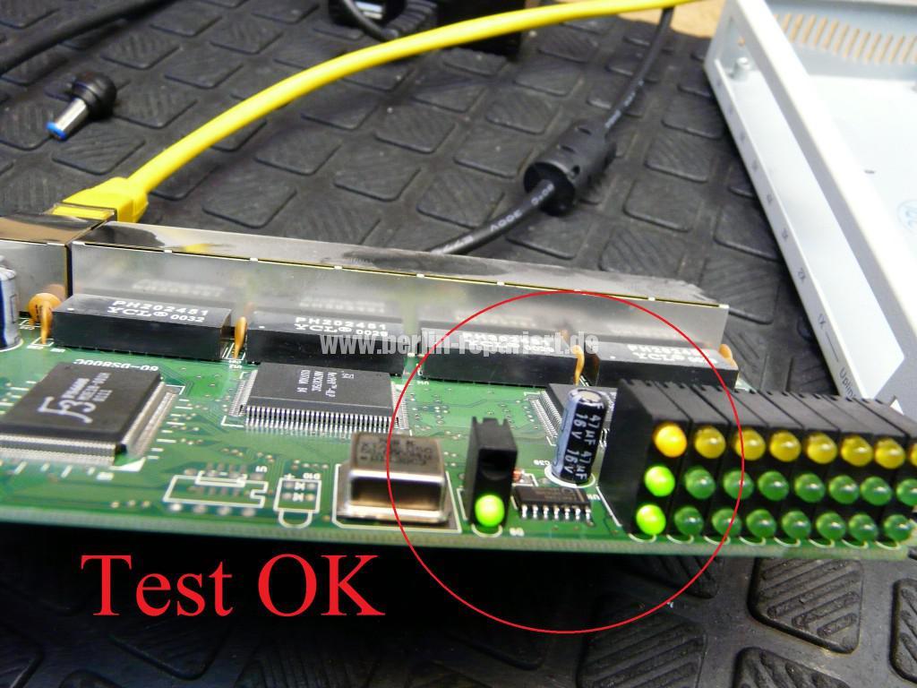 8 Port Netzwerk Switch, geht aus (8)