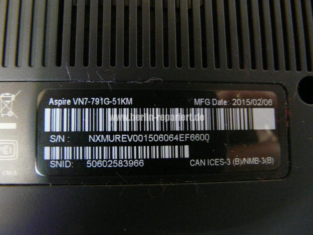ACER V 17 Nitro, VN7-791G, WLAN keine Funktion (17)
