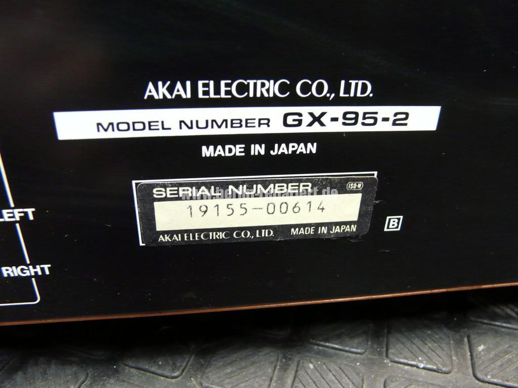 AKAY GX95 MKII, Band bleibt stehen (7)