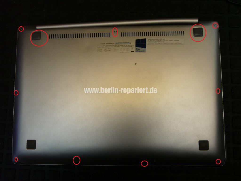 ASUS UX303, Scharniere Defekt, Display Deckel Defekt (3)