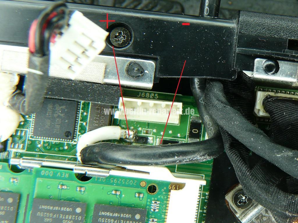 ASUS X66, Netzbuchse Defekt (5)
