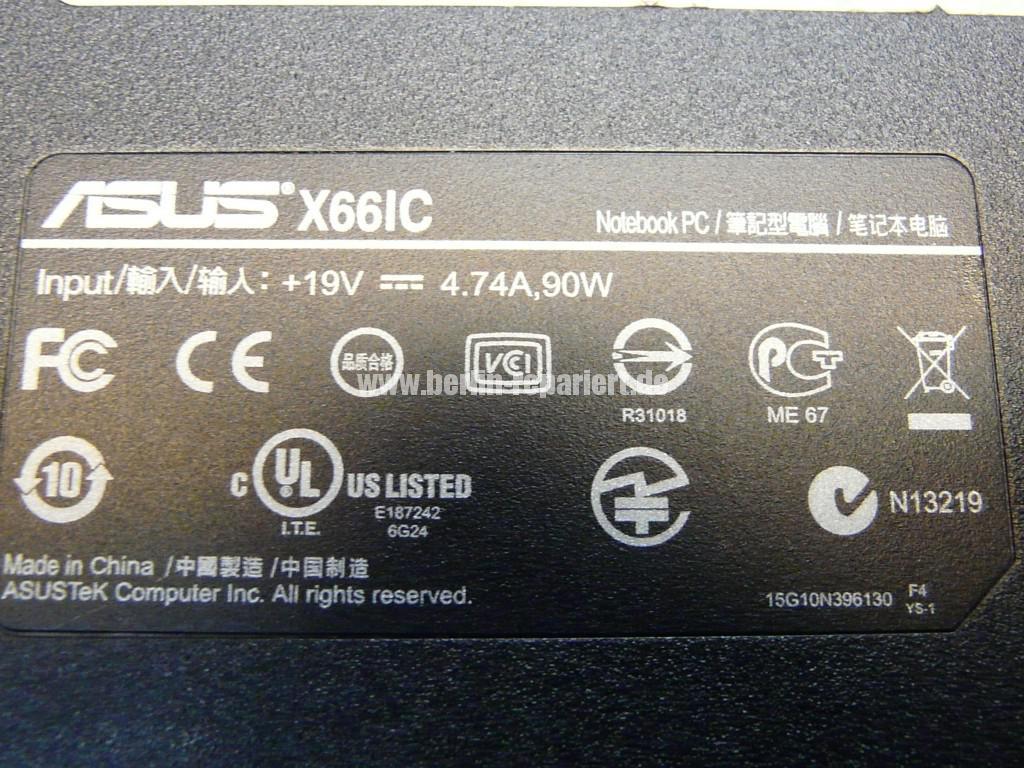 ASUS X66, Netzbuchse Defekt (6)