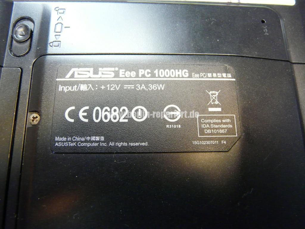 ASUS eee  PC 1000H, geht nicht an, wurde verpolt (16)