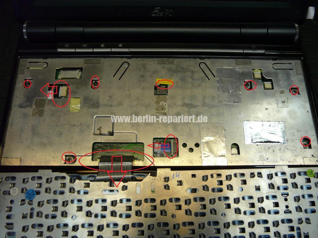ASUS eee  PC 1000H, geht nicht an, wurde verpolt (3)