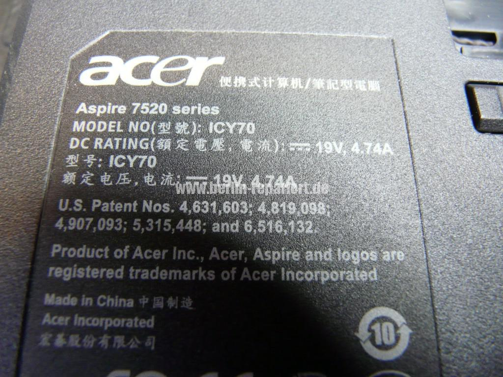 Acer Aspire 7520, geht An dann Aus An Aus (7)