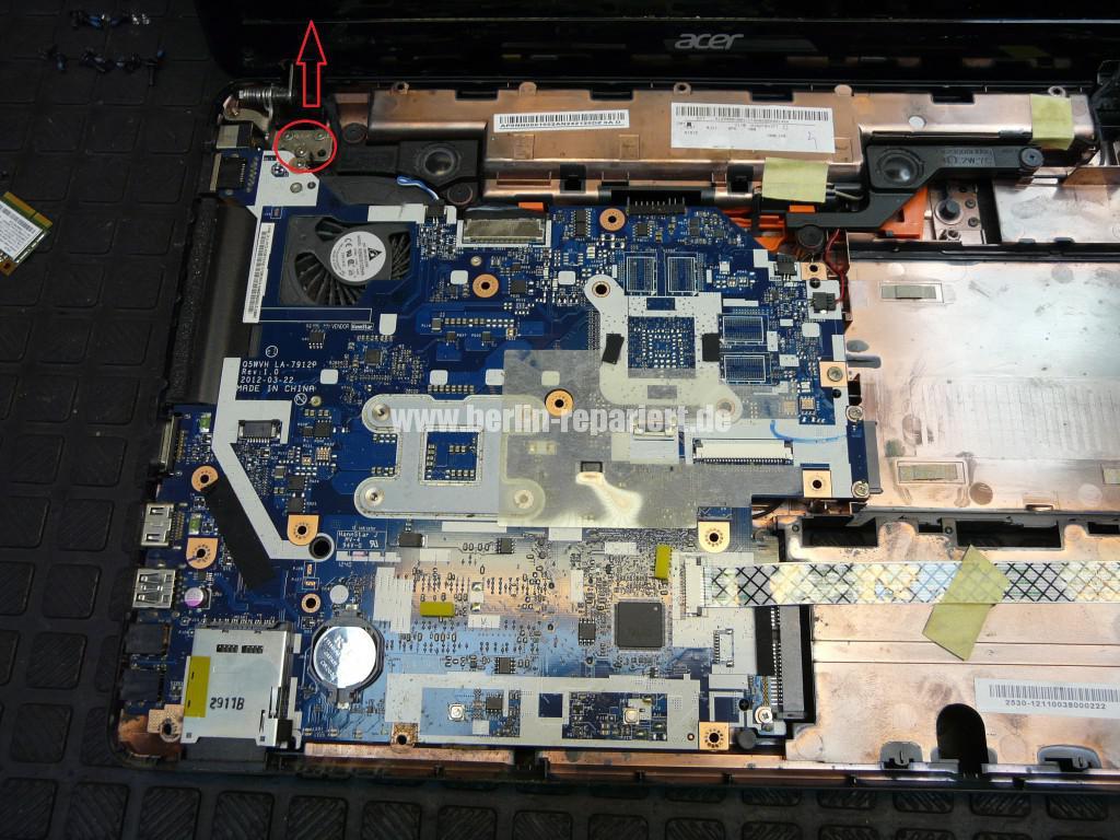 Acer Aspire E1-531, geht nicht an, Power Blinkt (8)