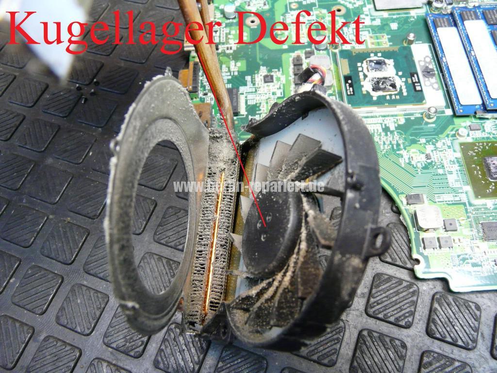 Acer Travel Mate 7740G, Lüfter Defekt, Lüfter Tauschen (9)