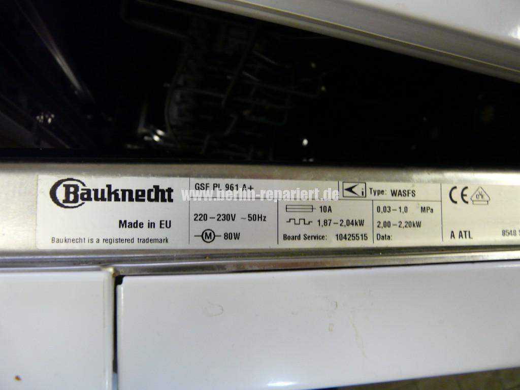 Baucknecht GSF PL 961A, Heizt nicht (6)