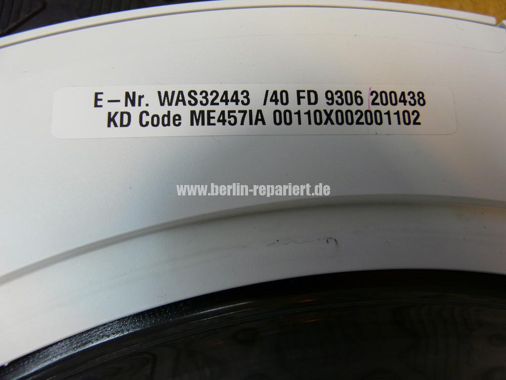 Bosch WAS32443, Tür klemmt, Bulauge Griff Defekt (2)