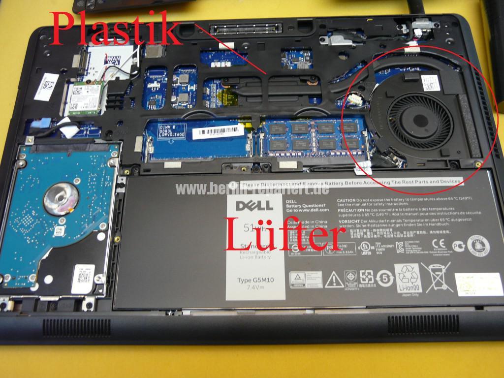 Dell Latitude E5450, wird sehr Heiß auf dem Linke Seite (4)