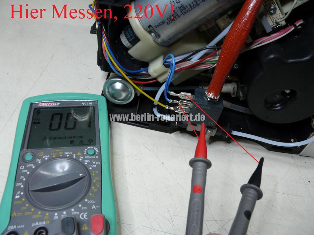 Delonghi ECAM23.450, Maschine spült nicht mehr, kein Heißwasser (5)