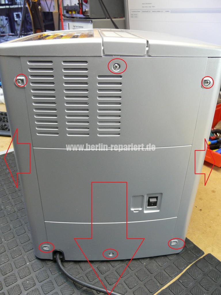 Delonghi Magnifica ESAM3600.S, Display Defekt (3)
