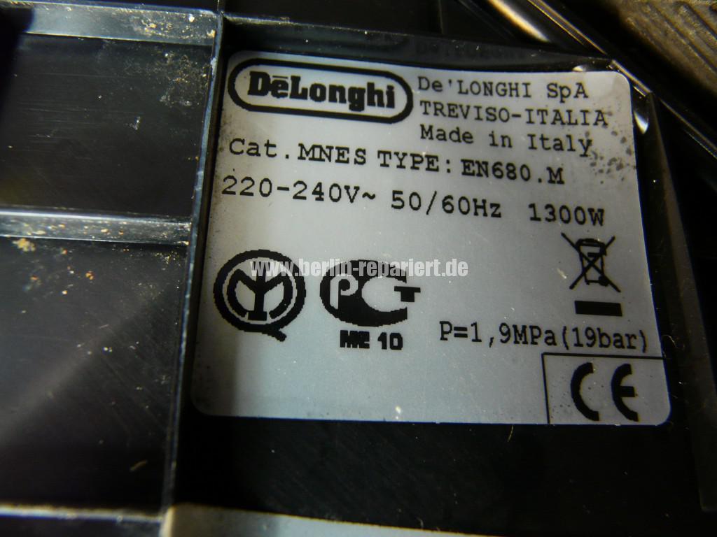 Delonghi Nespresso EN680, verliert Wasser (7)