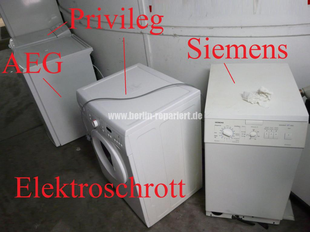 Elektroschrott Elektronic Waste Siemens Bosch AEG Privileg (2)