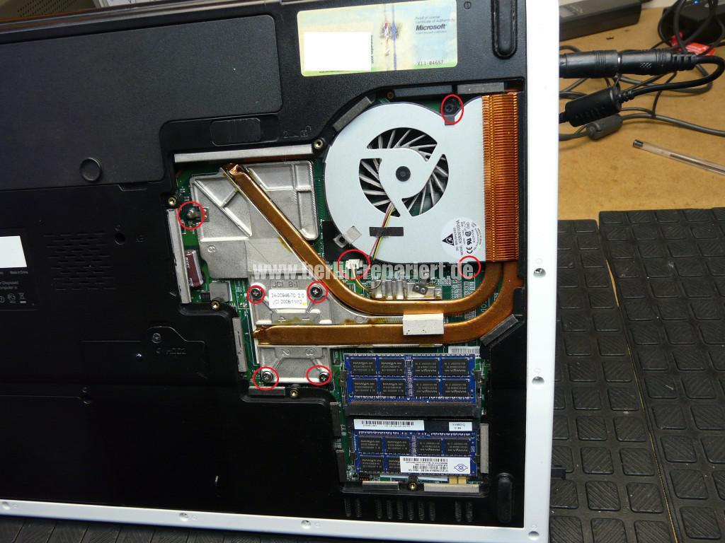 Fujitsu Siemens Amilo Xi3650, wird Heiß (3)
