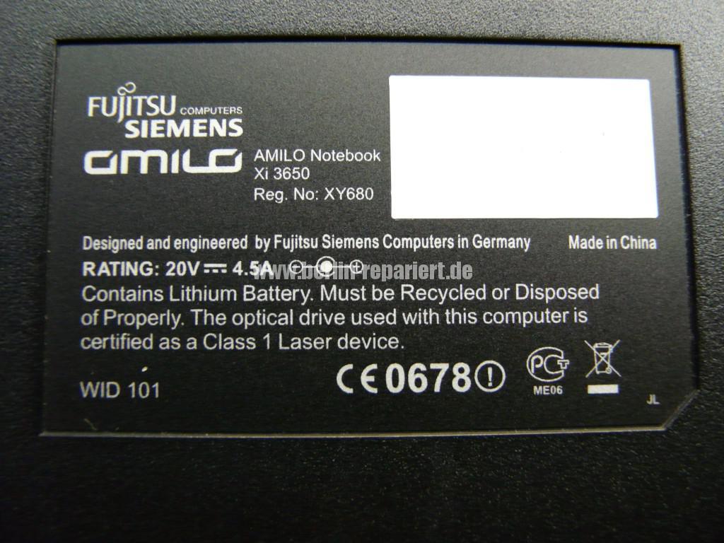 Fujitsu Siemens Amilo Xi3650, wird Heiß (4)