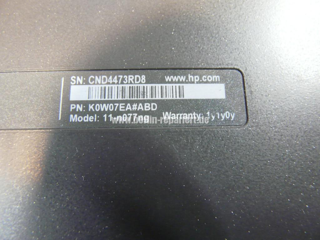 HP Pavilion 11-n077, Boot Device Not Found (14)