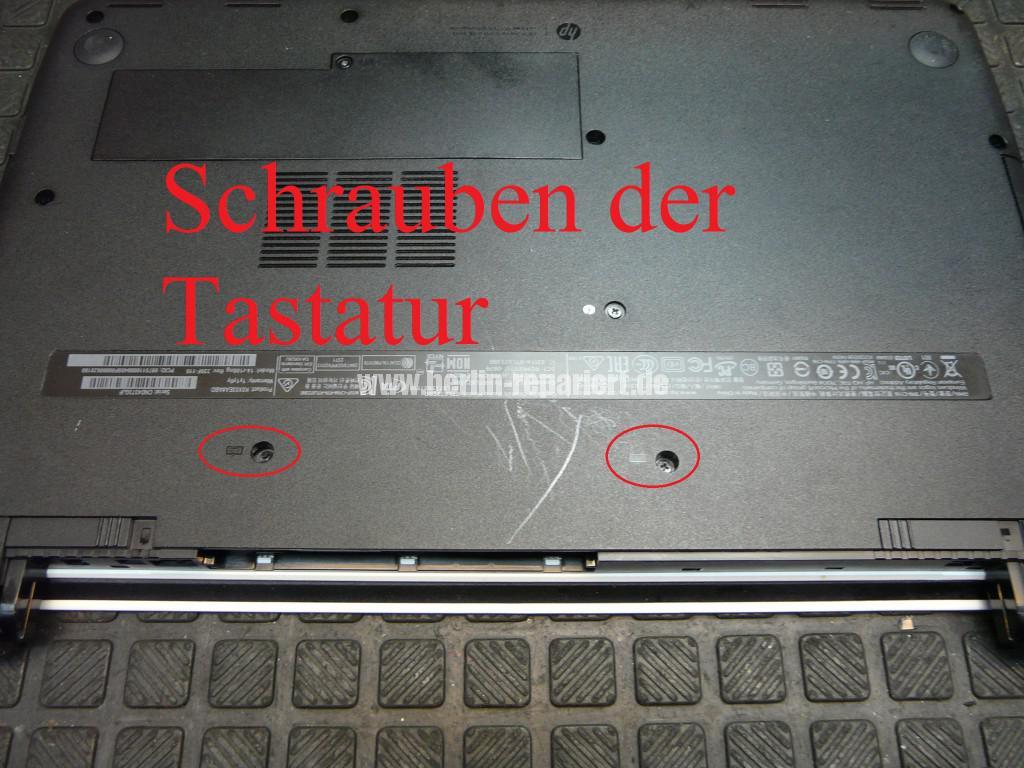 HP Sleekbook 14, Tastatur Defekt, Tastatur tauschen (3)