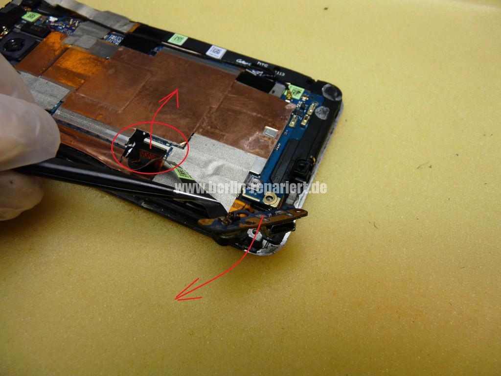 HTC One M7, USB Buchse Defekt (10)