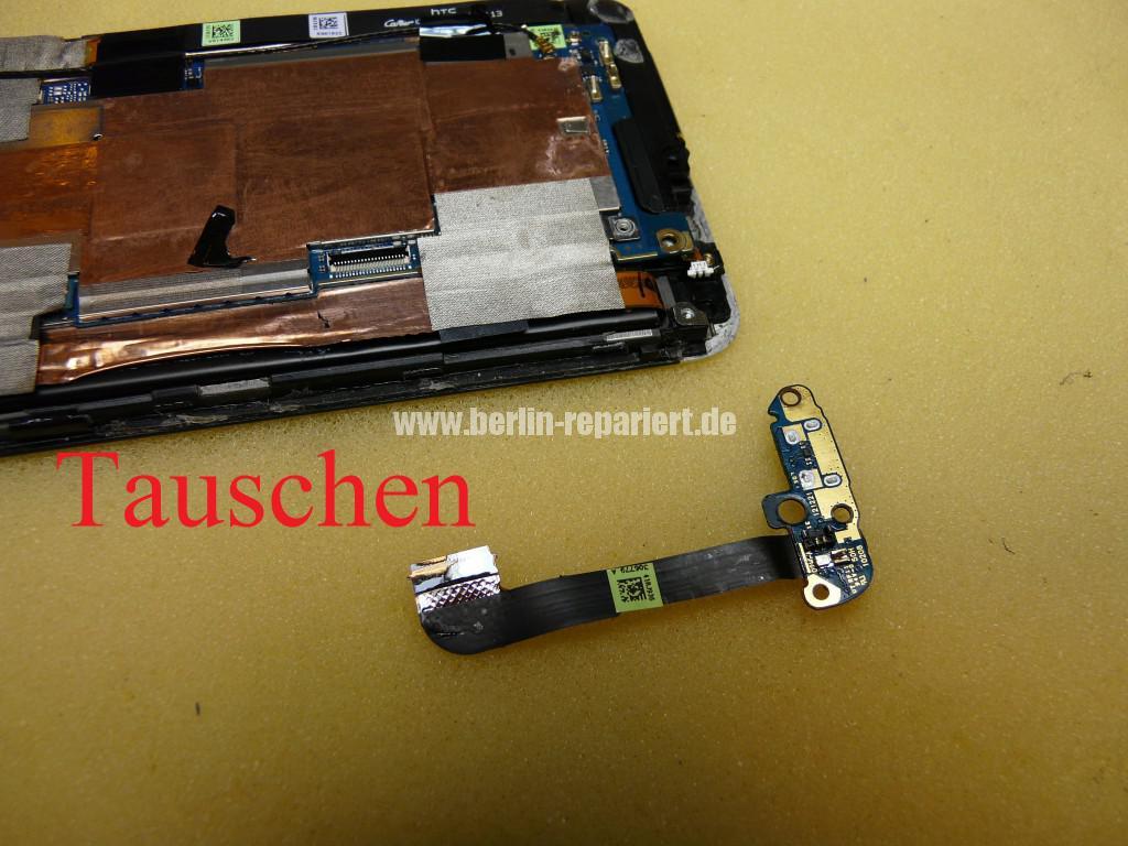 HTC One M7, USB Buchse Defekt (11)