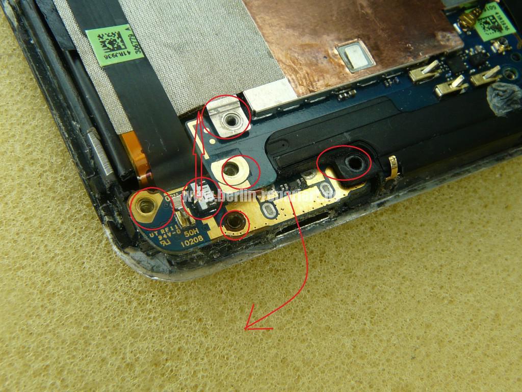 HTC One M7, USB Buchse Defekt (8)