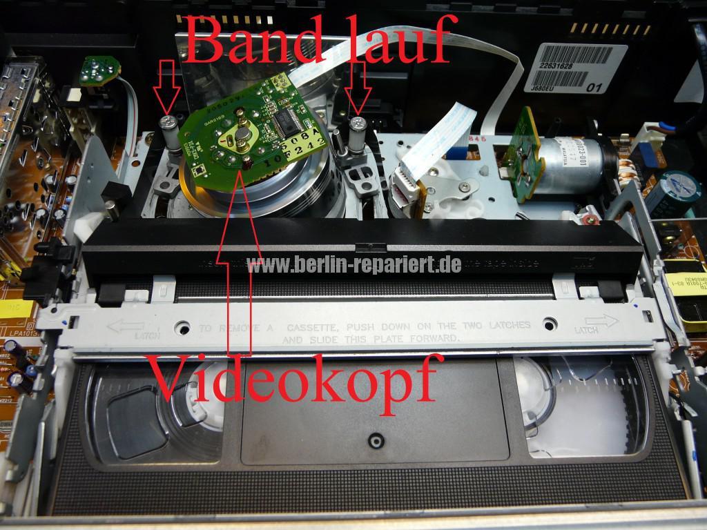 JVC HR-J680, Vidokopf Defekt (3)