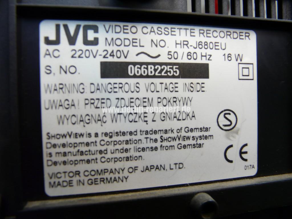 JVC HR-J680, Vidokopf Defekt (4)