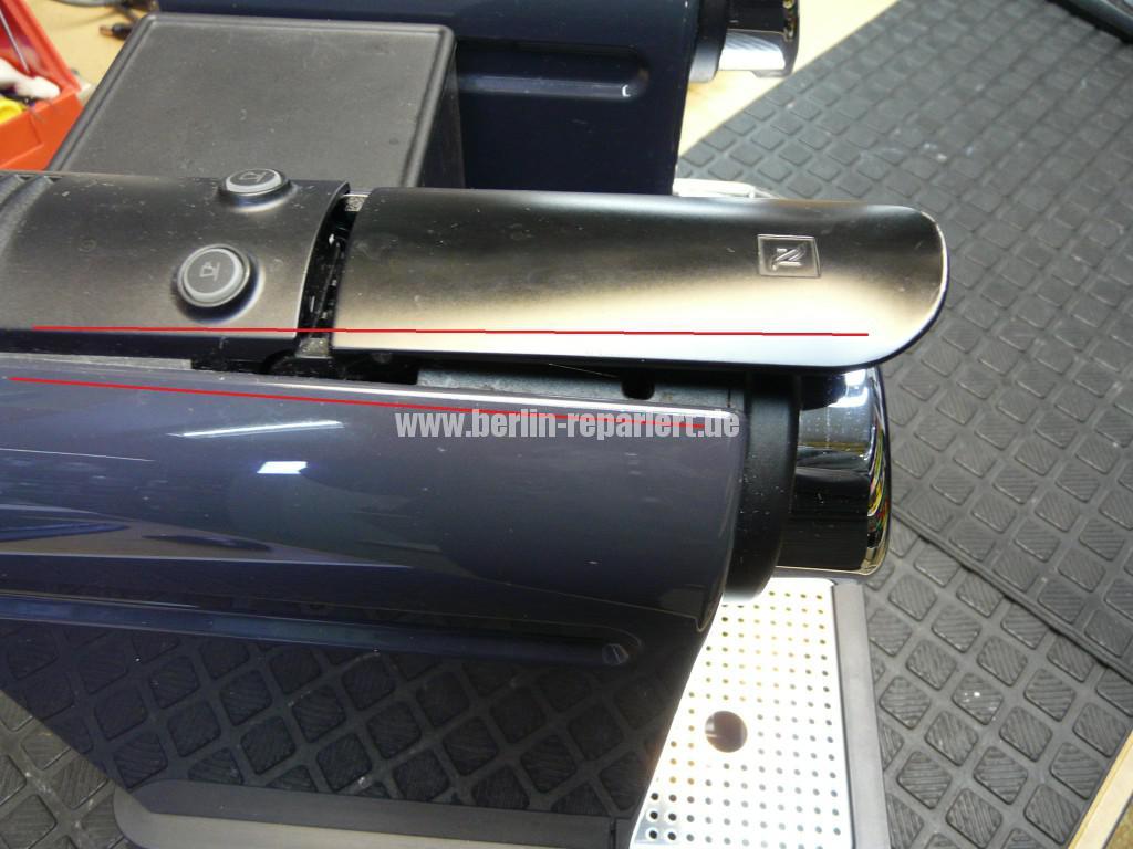 Krups Nespresso XN7505, Kapseln Afnahme Defekt (2)