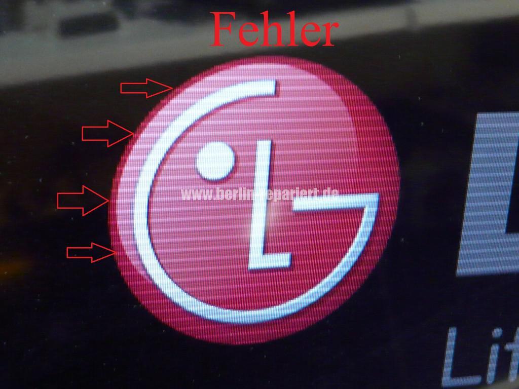 LG LE46B650, Steifen in Bild (2)