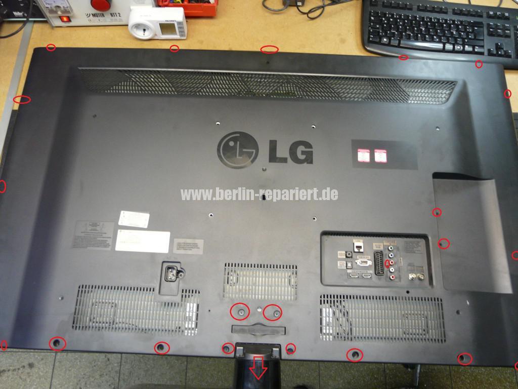 LG LE46B650, Steifen in Bild (3)