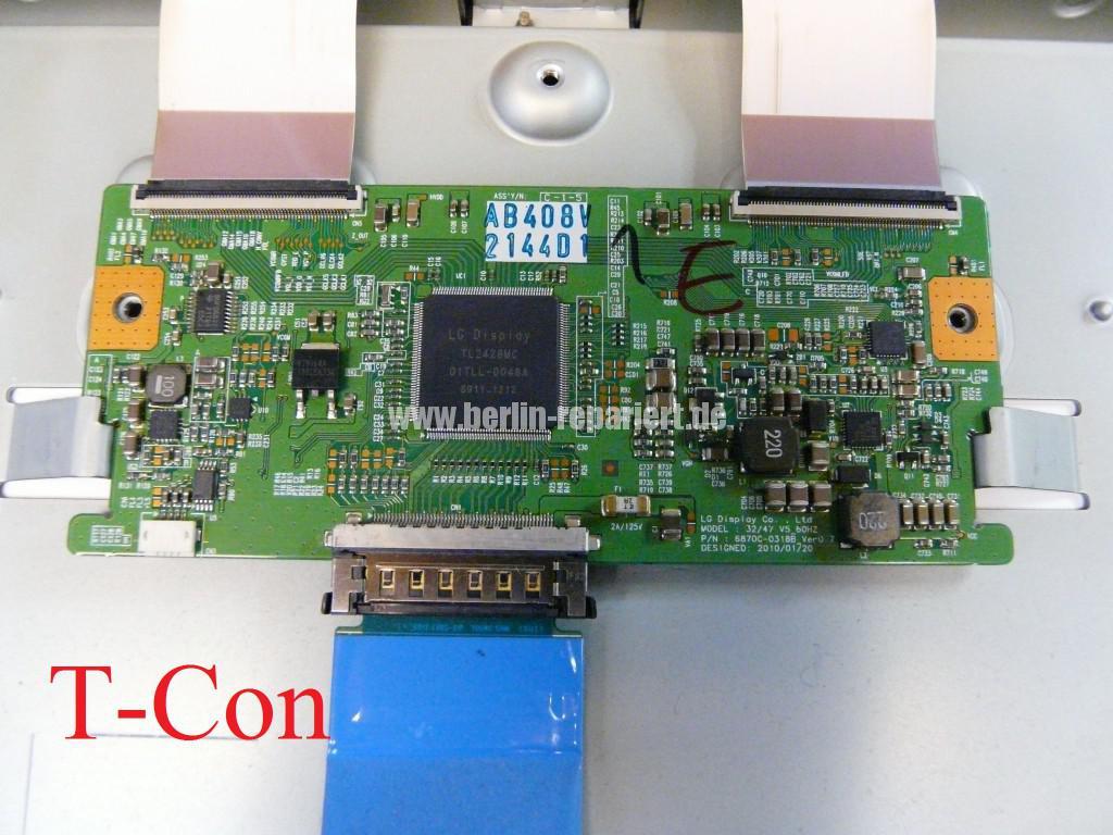 LG LE46B650, Steifen in Bild (5)