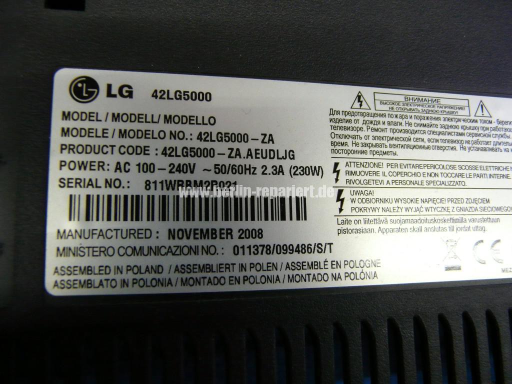 LG LG5000, Bild solarisiert, Gamma Fehler  (10)